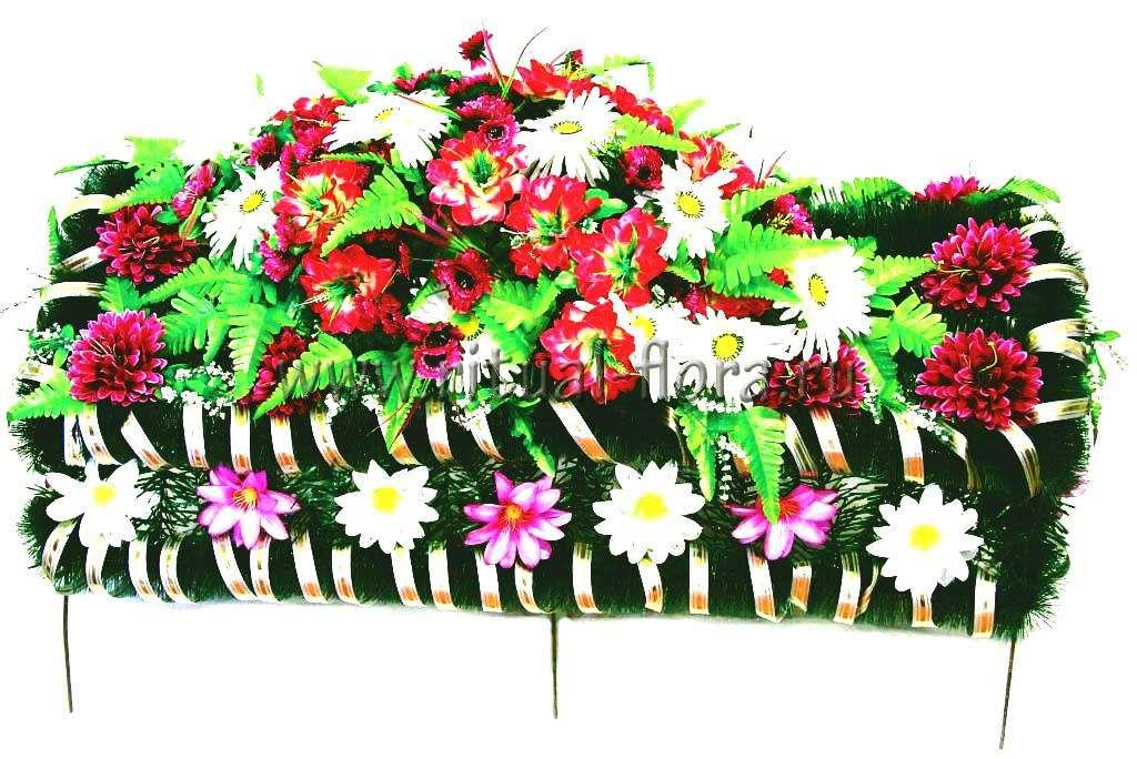 Венок готовый надгробие малое