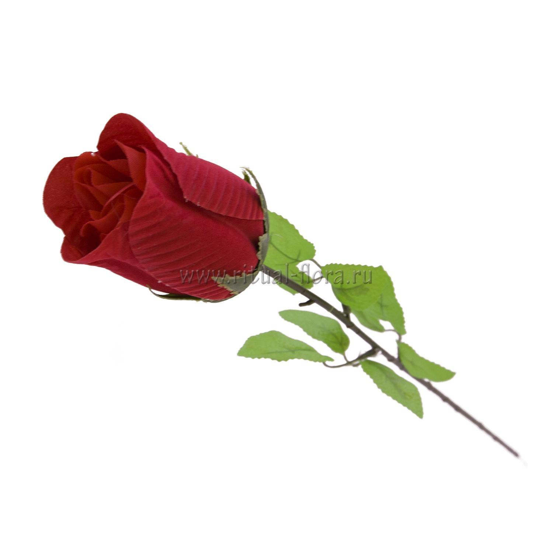 Ветка Розы бутон бокал В-007