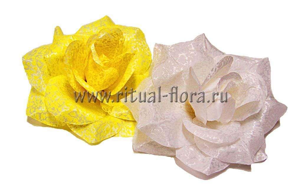 Роза Элегия LZY-23 желтая (1/40)