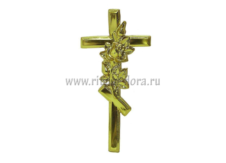 Крест на гроб (1.19 Крест с розой)