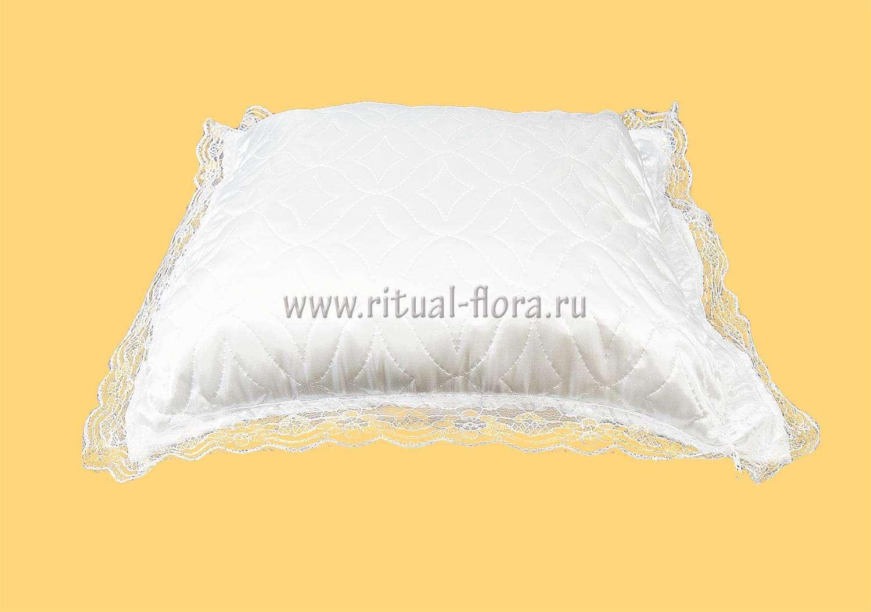 Подушка Н-6 атлас