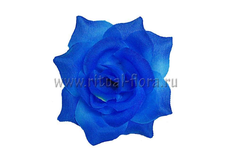 Роза Леди синяя д.5 см.