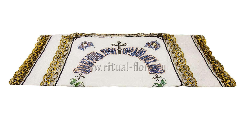 Покрывало ритуальное П-8 шелк