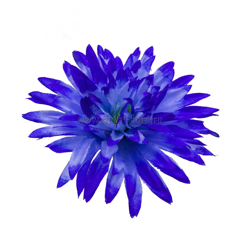 Астра атлас d-14 см синий (1/40)