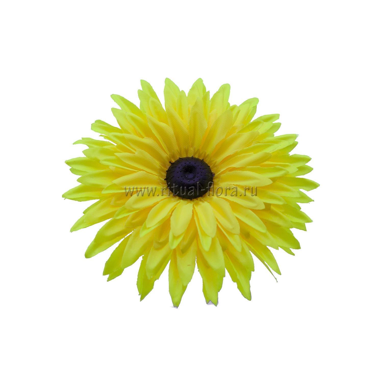 Гербера атлас d-15,5 см желтый