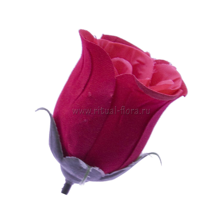 Роза бутон Акварель бархат №38 (1/100)