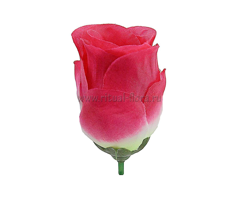 Роза бутон шелк Лаура красный