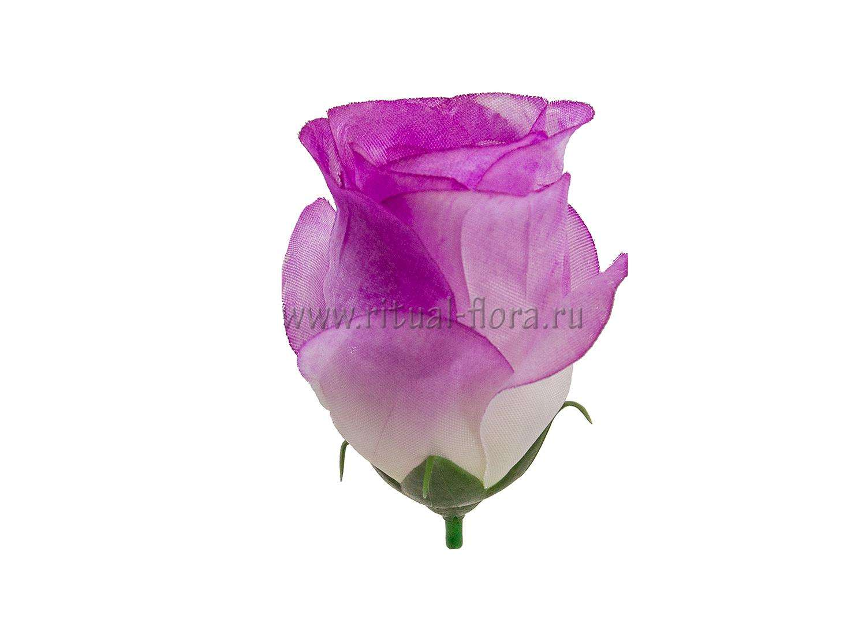 Роза бутон шелк Лаура фиолетовый