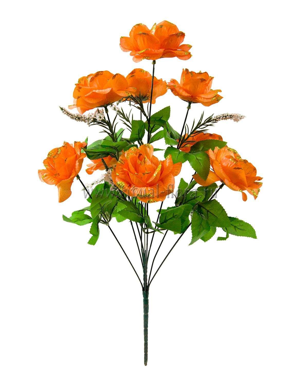 Букет роз с золтом 9 г. БФ-206