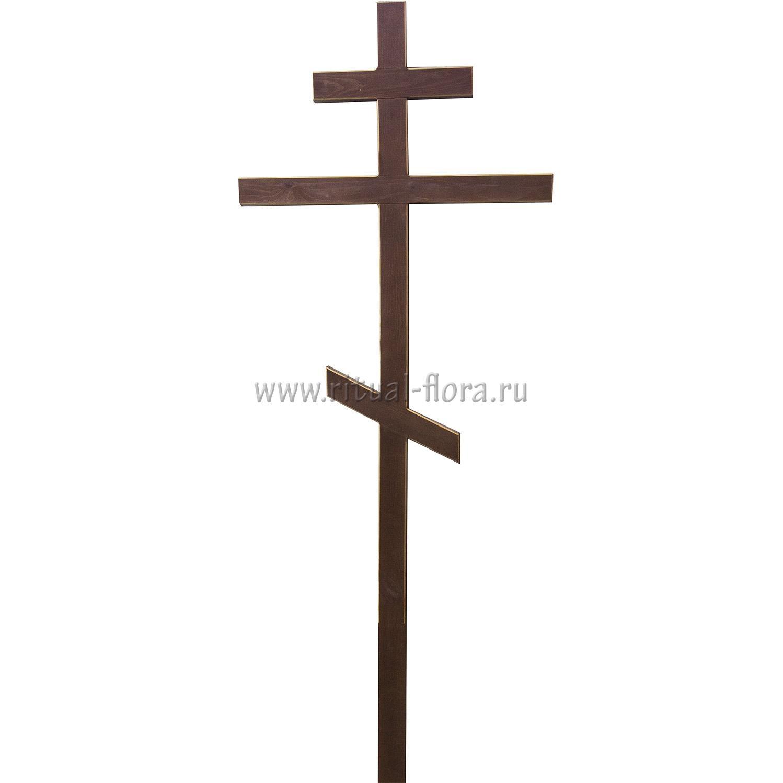 Крест на могилу узкий