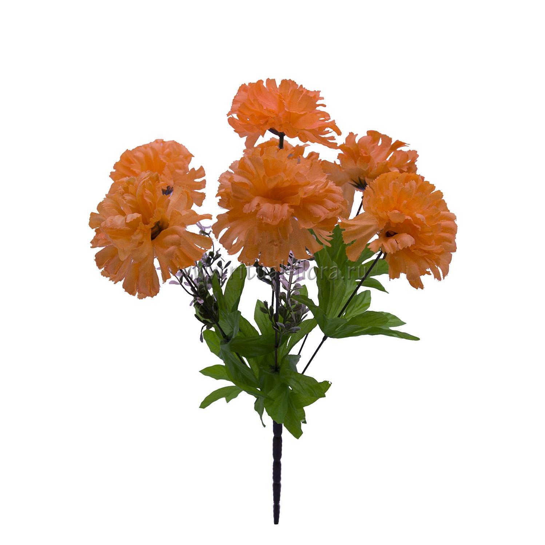 Букет гвоздик Мила (оранжевый) 7г БВ-013