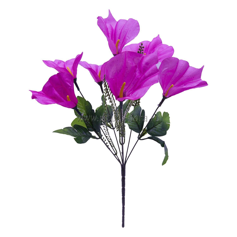 Букет калл атлас Нина (розовый) 7г БВ-007
