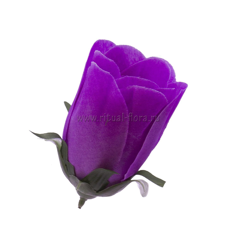 Роза бутон 7,5 см (1/100)
