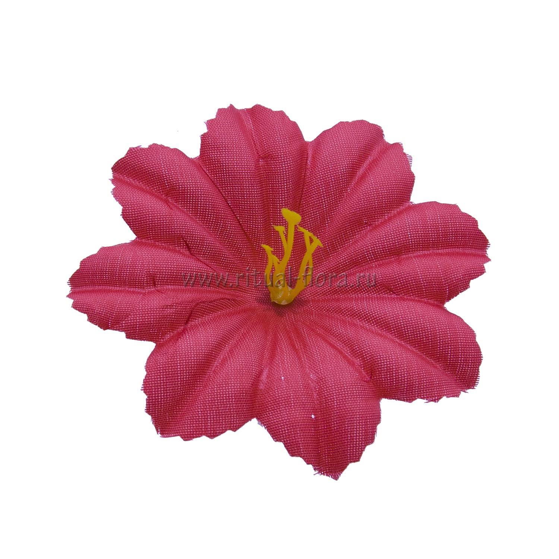 Клематис шелк №50 d-10,5 см. красный