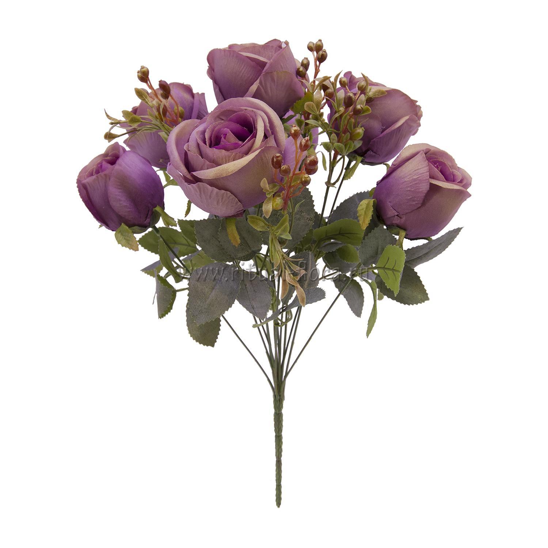 Букет роз элит с ягодой 13г БХН-369-13Г