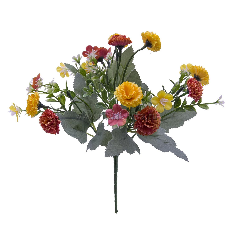 Букет хризантем малых 5в БХН-371-5В