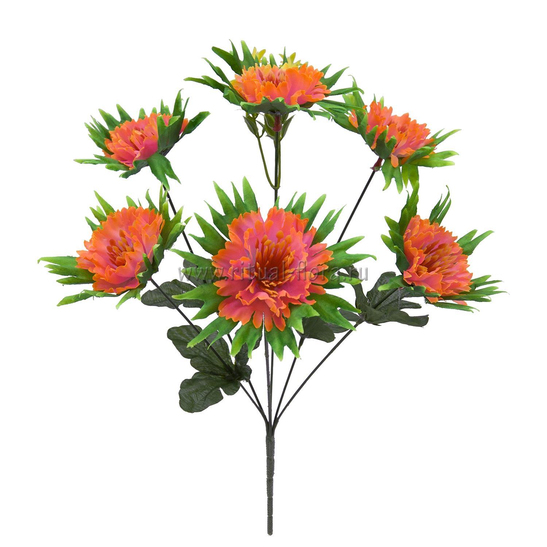 Букет хризантем в розетке 6г БХН-377-6Г